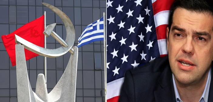 KKE vs Tsipras usa