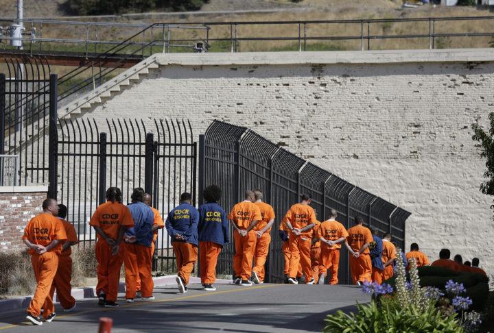 Κρατούμενοι καταδικασμένοι σε θάνατο στην φυλακή San Quentin στην Καλιφόρνια περιμένοντας την εκτέλεσή τους