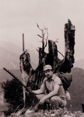Καμμένο δέντρο από βόμβα ναπάλμ
