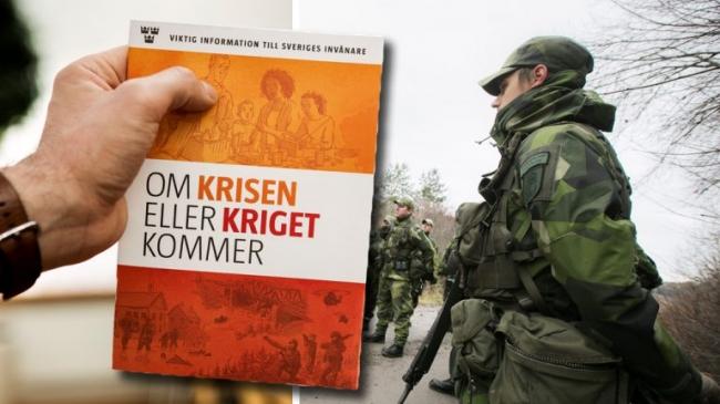 Τι να κάνουμε όταν θάρθει η κρίση και ο πόλεμος. Φυλλάδιο που κατατρομοκράτησε τους Σουηδούς. Στάλθηκε το 2017 για να ετοιμάσει το έδαφος για το ΝΑΤΟ