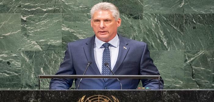 Diaz Canel Cuban President