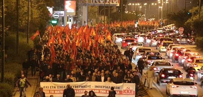 KKE poreia anti-nato