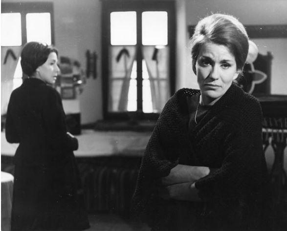 Με την Μαίρη Χρονοπούλου στην ταινία «Ψωμί για έναν δραπέτη»