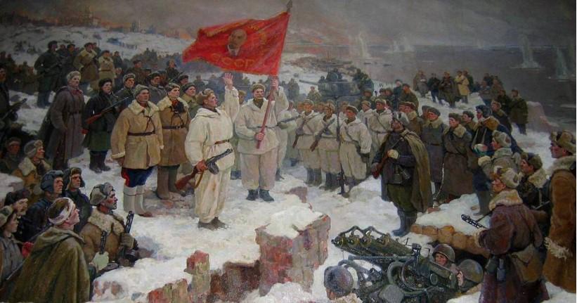 Από τη μάχη του Στάλινγκραντ