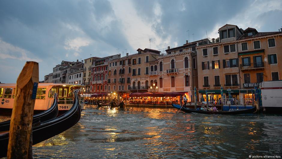 Η Βενετία συγκαταλέγεται στις πιο επικίνδυνες ζώνες της Μεσογείου