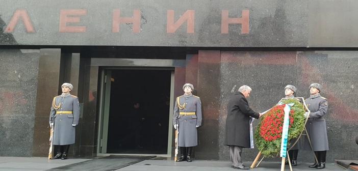 Diaz Canel Lenin Mausoleum