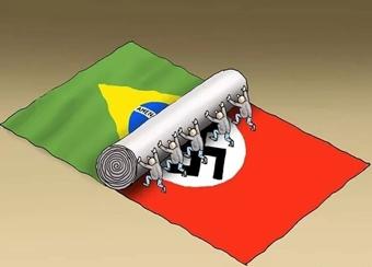 brazil nazi