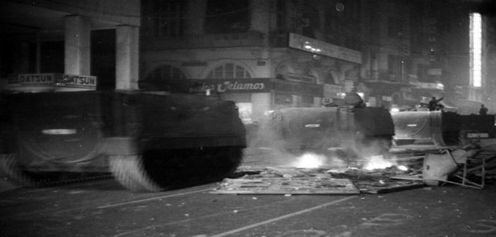 ΦΩΤΟ: Β.Καραμανώλης/ΑΡΧΕΙΟ Αντιδικτατορικής Νεολαίας, Μ.Νταλούκας.