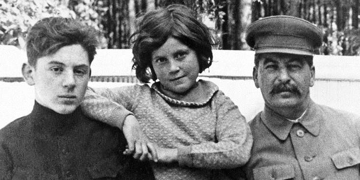 Stalin children