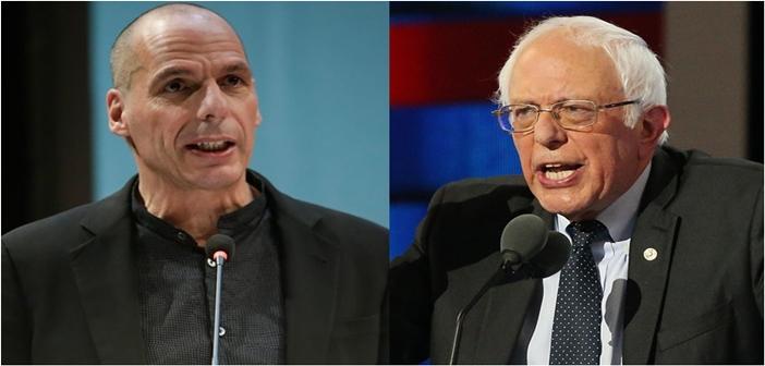 Varoufakis Sanders