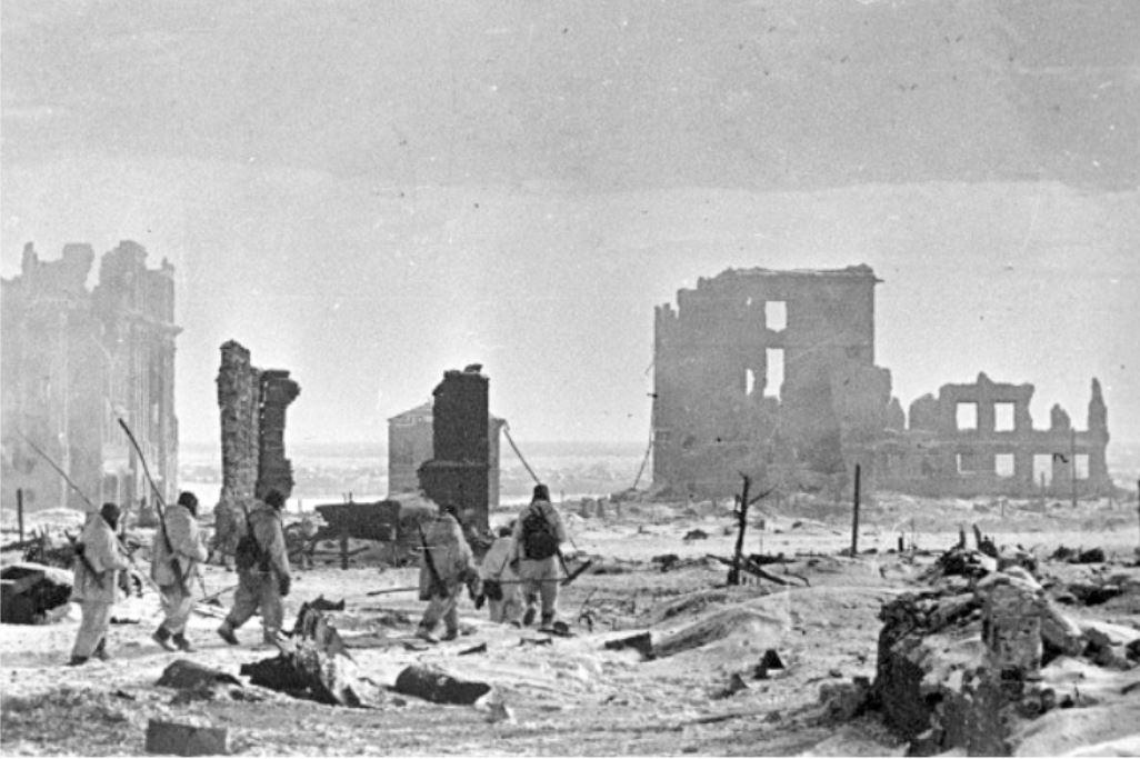 Το κέντρο του Στάλινγκραντ μετά τη νίκη (Φλεβάρης 1943)