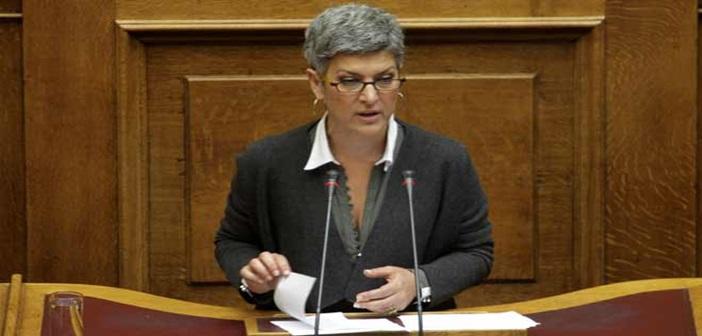 """Με το ψηφοδέλτιο της """"Λαϊκής Συσπείρωσης"""" στην Περιφέρεια Β. Αιγαίου η πρώην βουλευτής του ΣΥΡΙΖΑ, Α. Κυρίτση"""