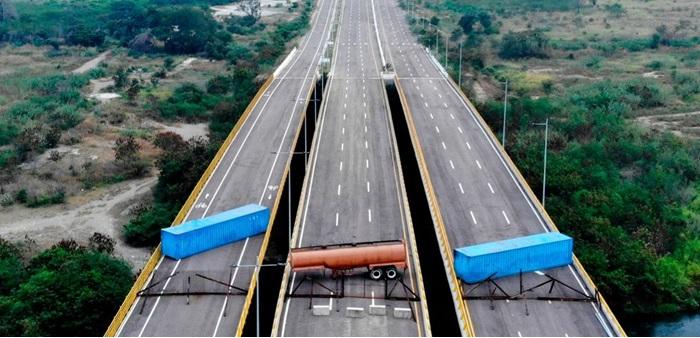 ΑΠΟΚΛΕΙΣΤΙΚΟ: Fake news η «κλειστή» γέφυρα της ανθρωπιστικής βοήθειας στη Βενεζουέλα