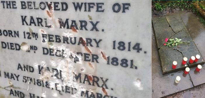 Ακόμα και νεκρός ο Καρλ Μαρξ είναι εφιάλτης για το κεφάλαιο και τα ιδεολογικά δεκανίκια του (ΦΩΤΟ)