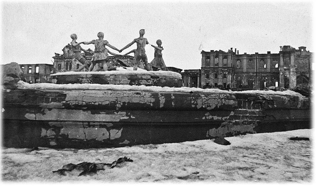 Фонтан «Бармалей» (Barmalei) το ιστορικό σιντριβάνι του Στάλινγκραντ