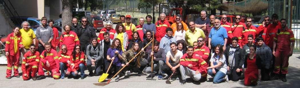 Καισαριανή ομάδα εθελοντικής δασοπροστασίας