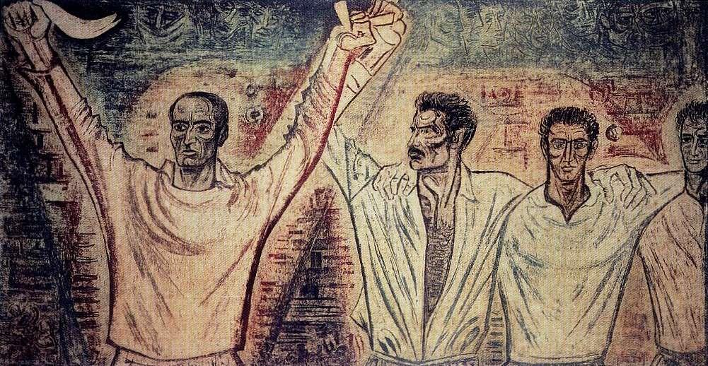 «Ο χορός του Σουκατζίδη» έργο του Βάλια Σεμερτζίδη 1966