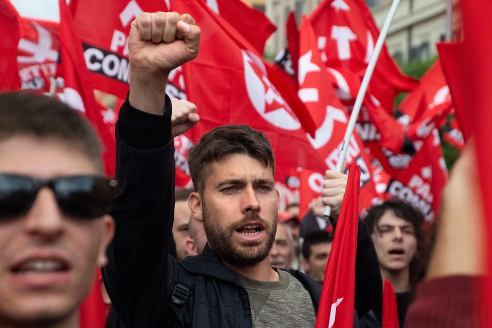 PCI manifestazione