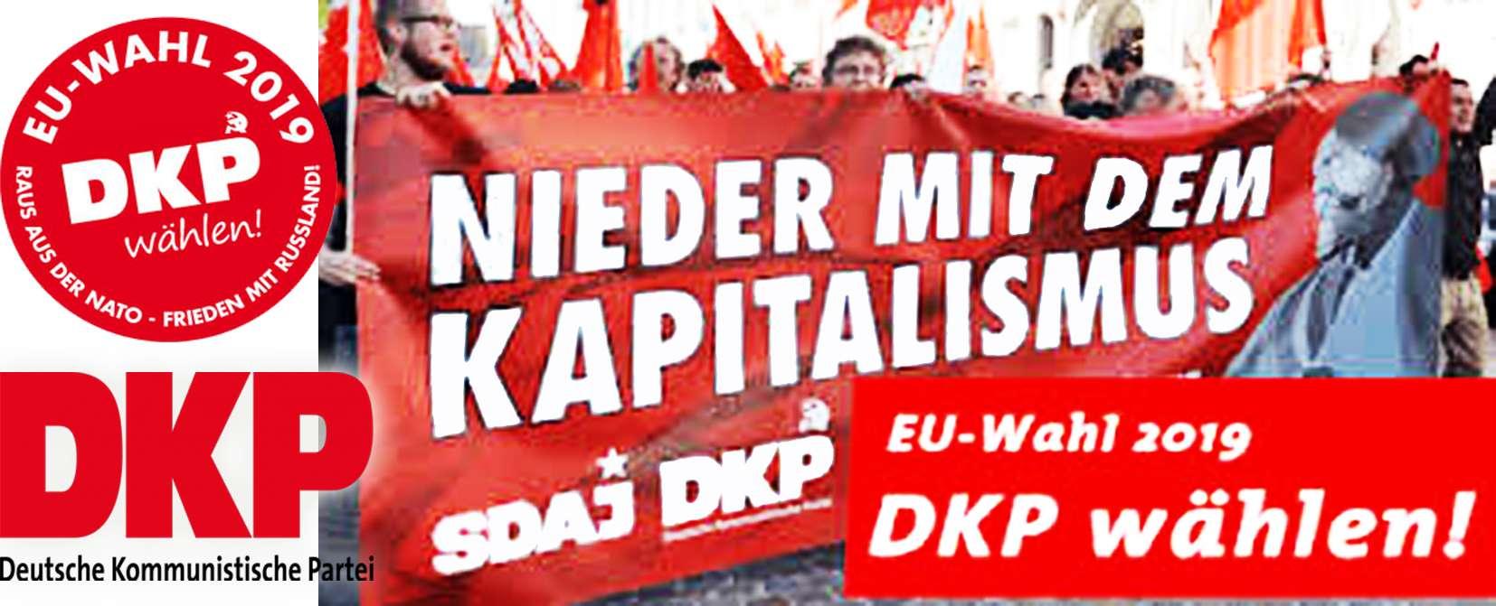DKP 🚩Γερμανικό Κομμουνιστικό Κόμμα 🚩Διακήρυξη για τις Ευρωεκλογές