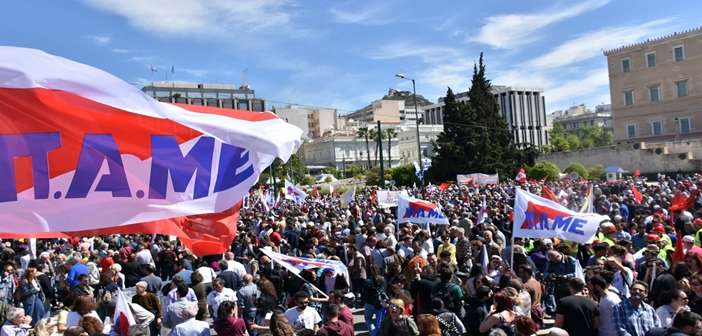 May Day 2019 Greece 1