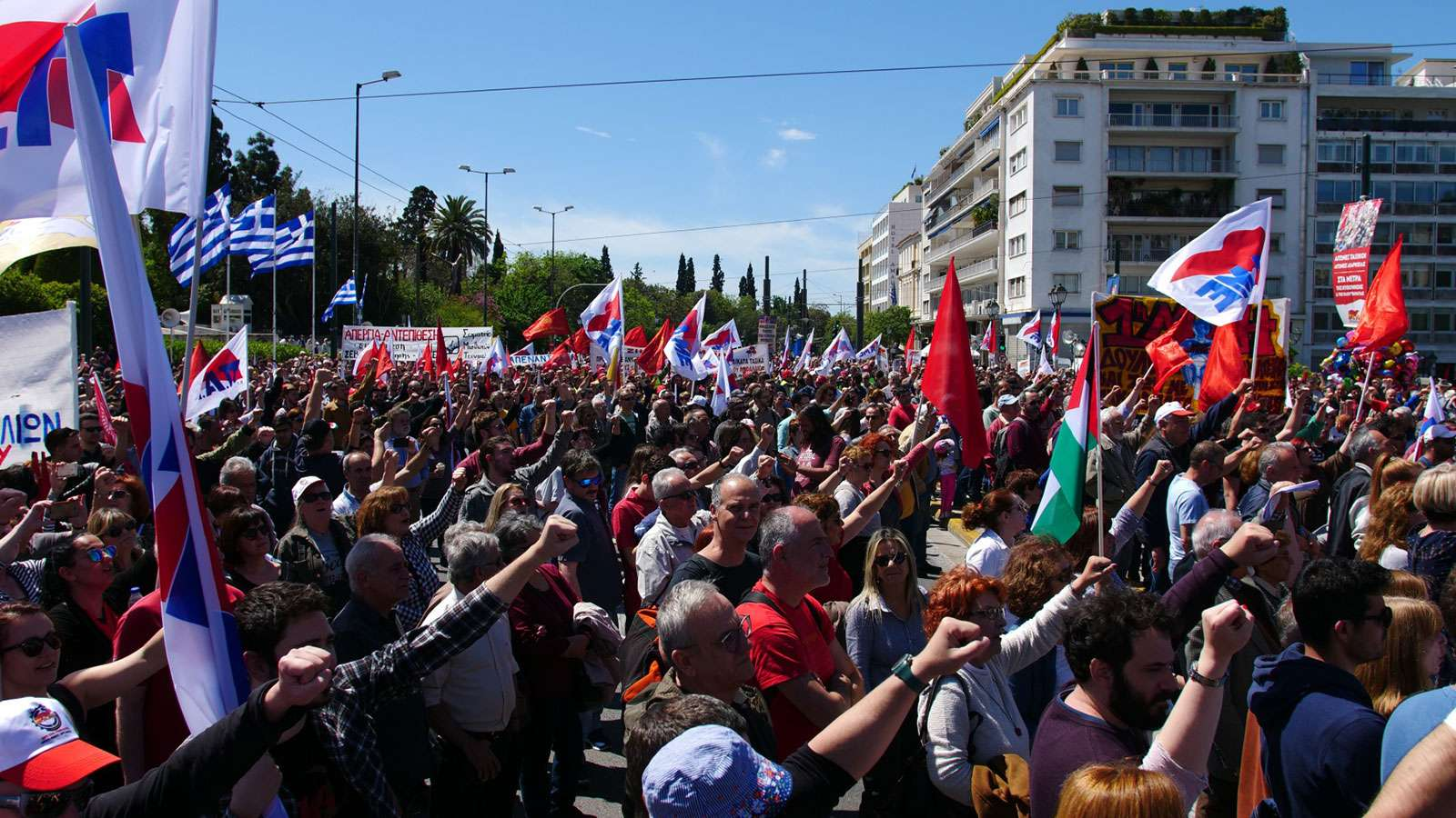 May Day 2019 Greece 3