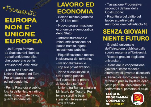 """PCI"" Brochure europa"