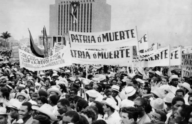 Primero de Mayo Patria o Muerte en el año 1960