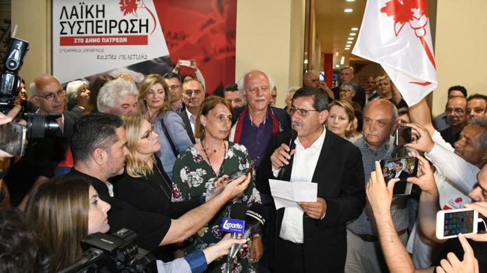 ΚΩΣΤΑΣ ΠΕΛΕΤΙΔΗΣ: Να μείνει ο Δήμος Πατρέων στα χέρια του λαού