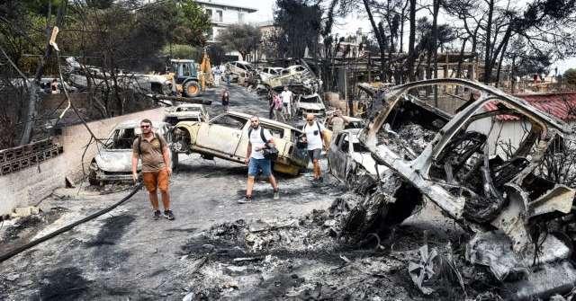 Ένα χρόνο από τη φονική πυρκαγιά στην Ανατολική Αττική