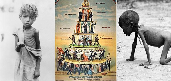 Καπιταλισμός: «Βουτηγμένος από την κορυφή ως τα νύχια στο αίμα και στη βρωμιά…»