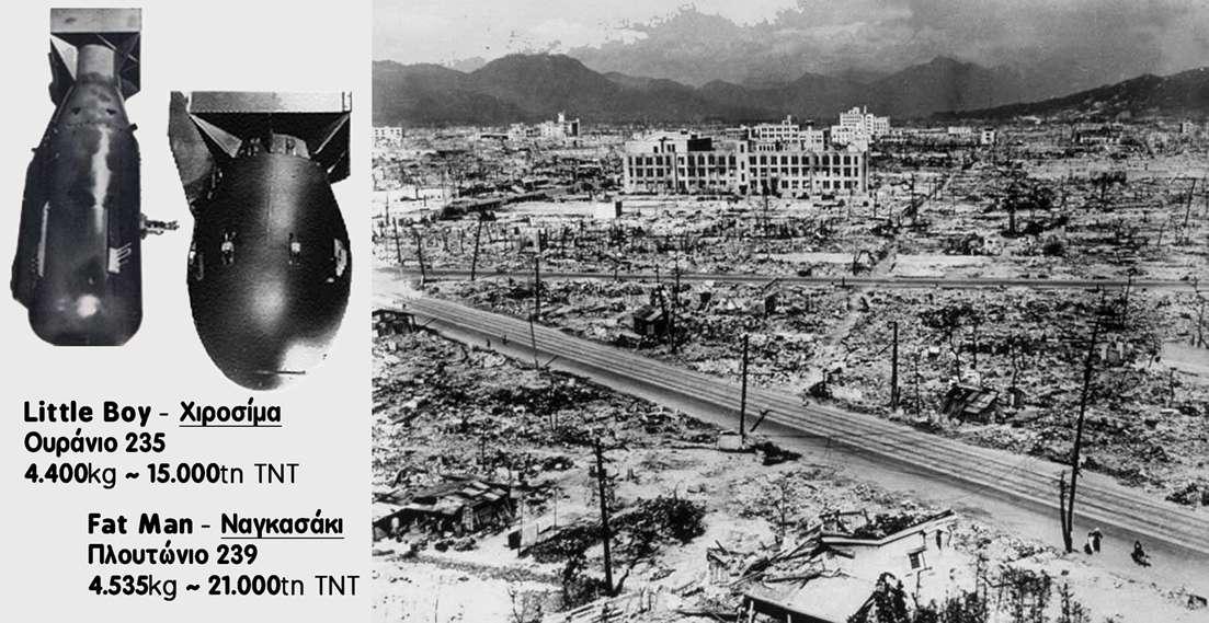 ΧΙΡΟΣΙΜΑ-ΝΑΓΚΑΣΑΚΙ: Ανεξίτηλα σύμβολα της καπιταλιστικής βαρβαρότητας