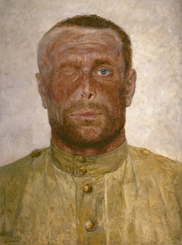 Гелий Коржев «Ίχνη απ' τον πόλεμο»