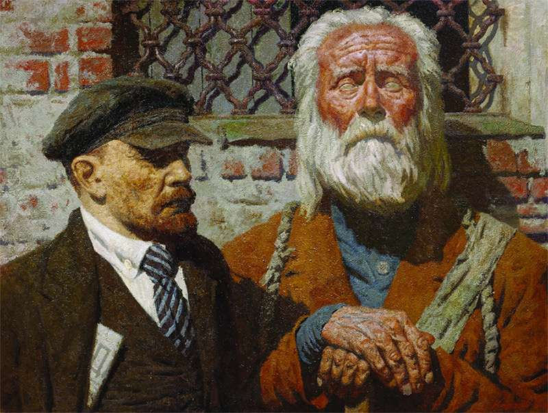 Гелий Коржев «Η συνομιλία»