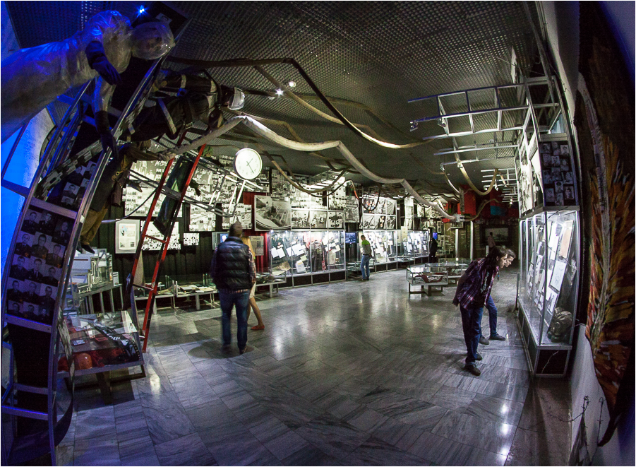 музей «Чернобыль» Μουσείο Τσέρνομπιλ