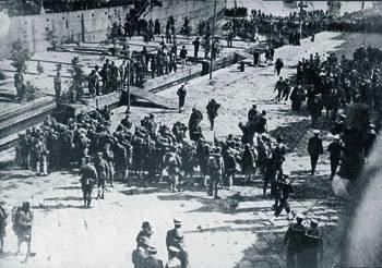 15 Μάρτη 1919 Απόβαση των ελληνικών στρατευμάτων στη Σμύρνη