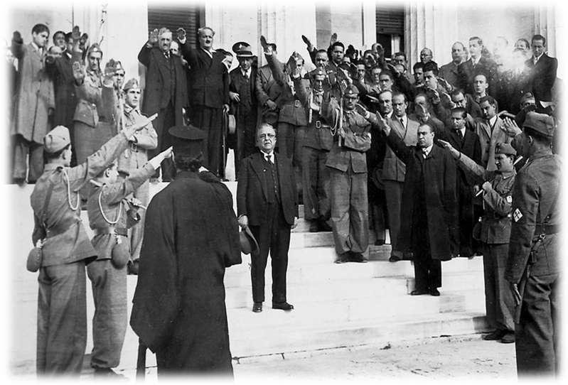 4η Αυγούστου Μεταξικός Αντικομουνισμός