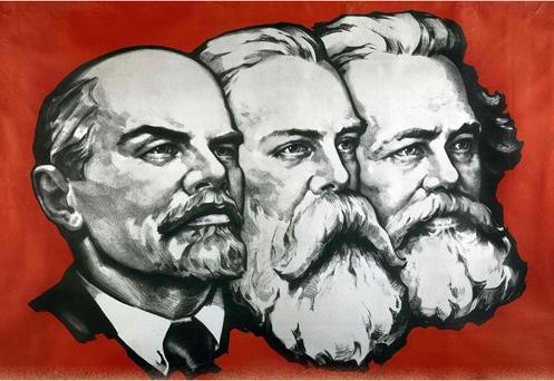 Engels Marx Lenin