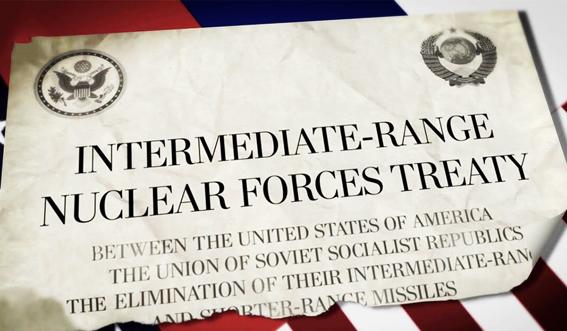 Intermediate Range Nuclear Forces Treaty INF USA CCCP