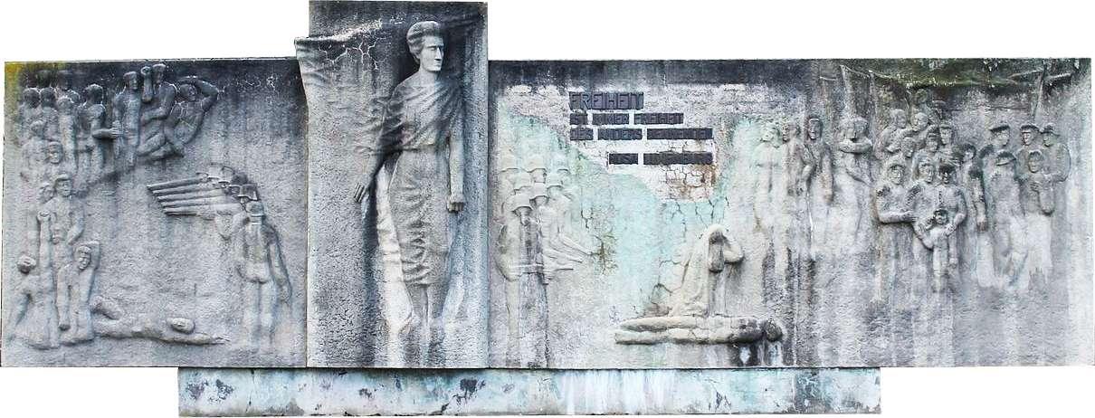 R. Luxemburg Denkmal Zwickau Freiheit ist immer Freiheit des anders Denkenden