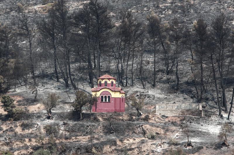 Φωτιά Εύβοια Καταστροφές