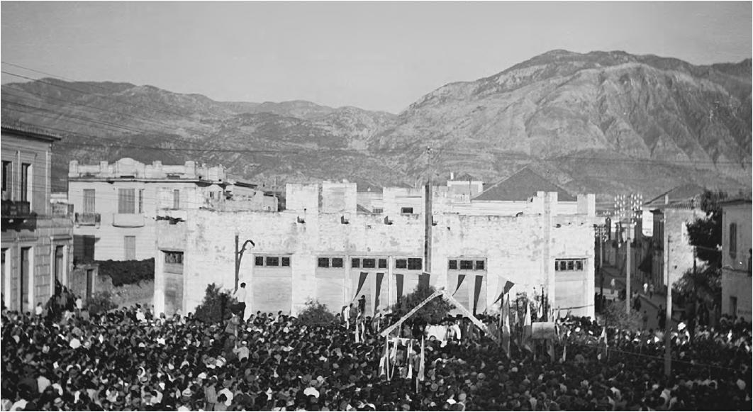 Δοξολογία απελευθέρωσης Καλαμάτας από τον ΕΛΑΣ 11 Σεπ 1944