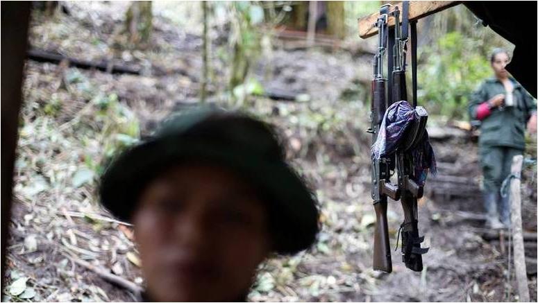 FARC entrega de armas