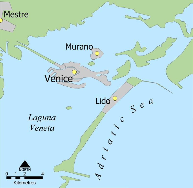 Mostra Internazionale dArte Cinematografica di Venezia Χάρτης