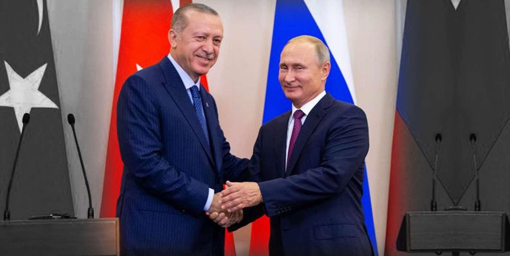 Βλαντίμιρ Πούτιν Ταγίπ Ερντογάν