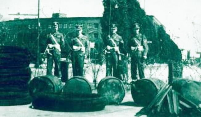 κοινή διοίκηση του Βερολίνου από τη Σοβιετική Ενωση τις ΗΠΑ τη Γαλλία και τη Βρετανία διαλύθηκε