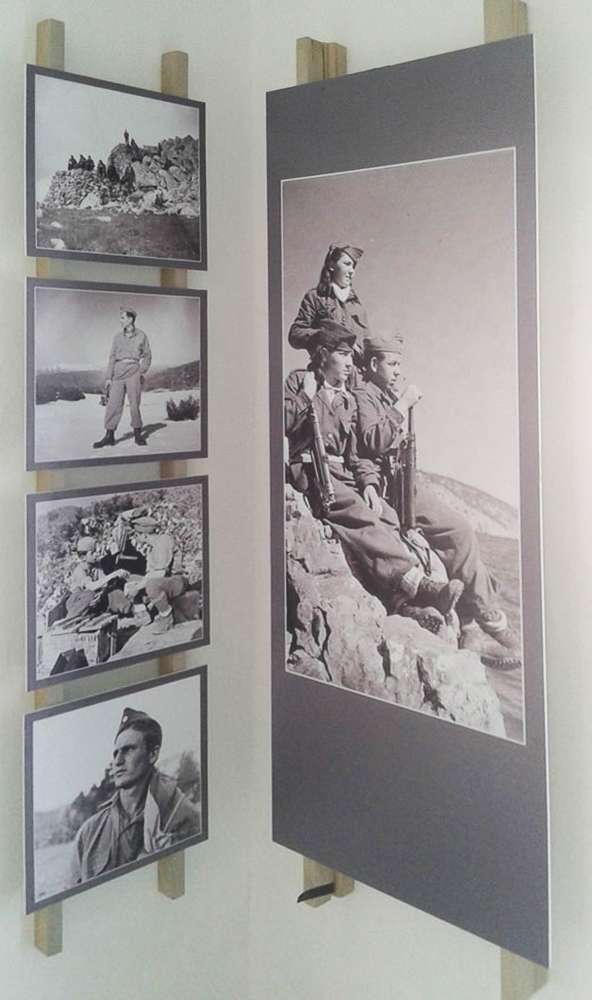 Καλλιθέα Πρεσπών Μουσείο ΕΑΜ ΕΛΑΣ ΔΣΕ ταμπλό
