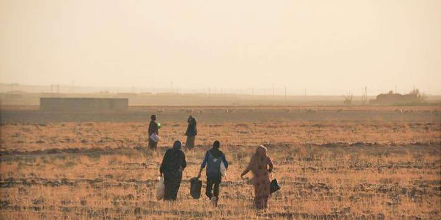 ΣΥΡΙΑ χιλιάδες πρόσφυγες