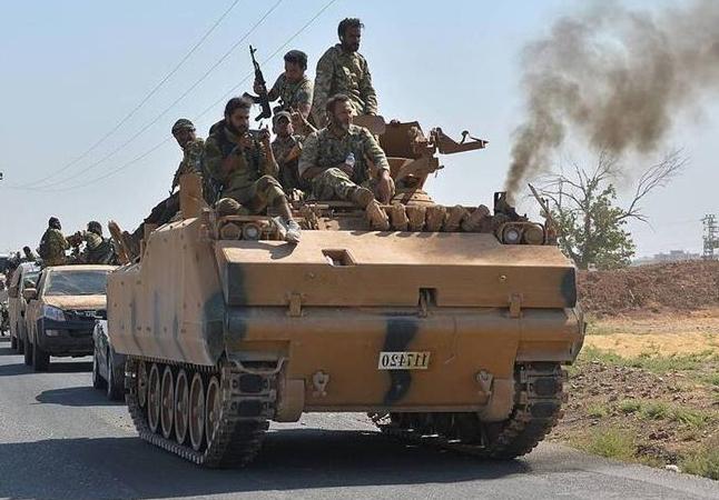 Εισβολή Τουρκίας Συρία