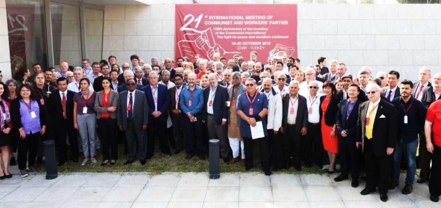 100 χρόνια από την ίδρυση της Κομμουνιστικής Διεθνούς συνεχίζεται η πάλη για την ειρήνη και το σοσιαλισμό