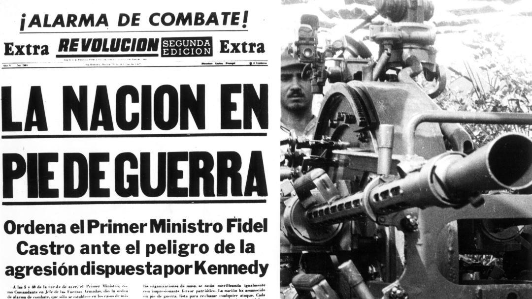 La nacion en pie de guerra crisi missiles Cuba
